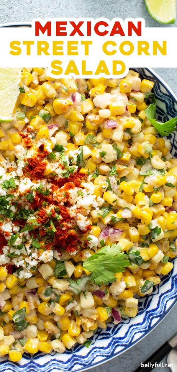 pin for Mexican Street Corn Salad