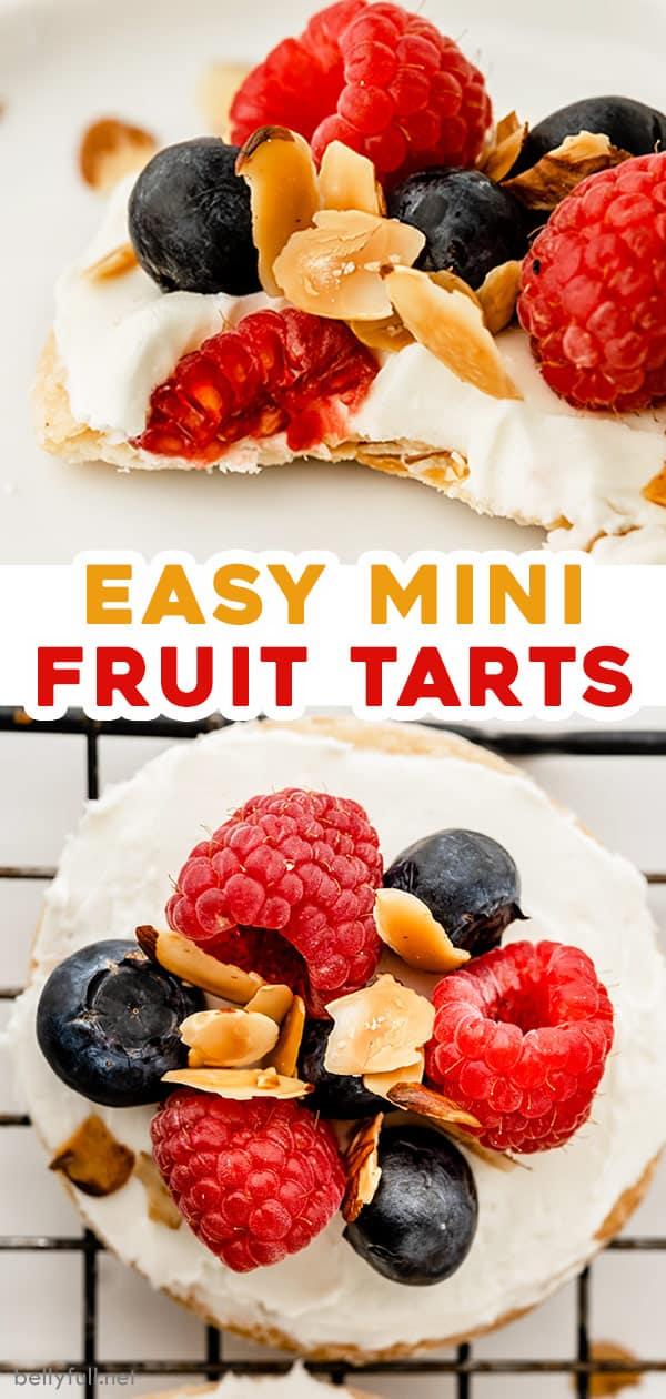 pin for Mini Fruit Tarts recipe