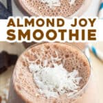 2 picture pin for almond joy smoothie recipe
