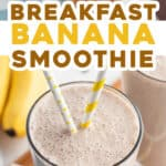 2 picture pin for banana smoothie