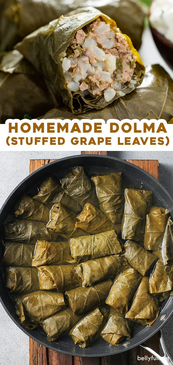 2 picture pin for homemade Dolma (stuffed grapes leaves)