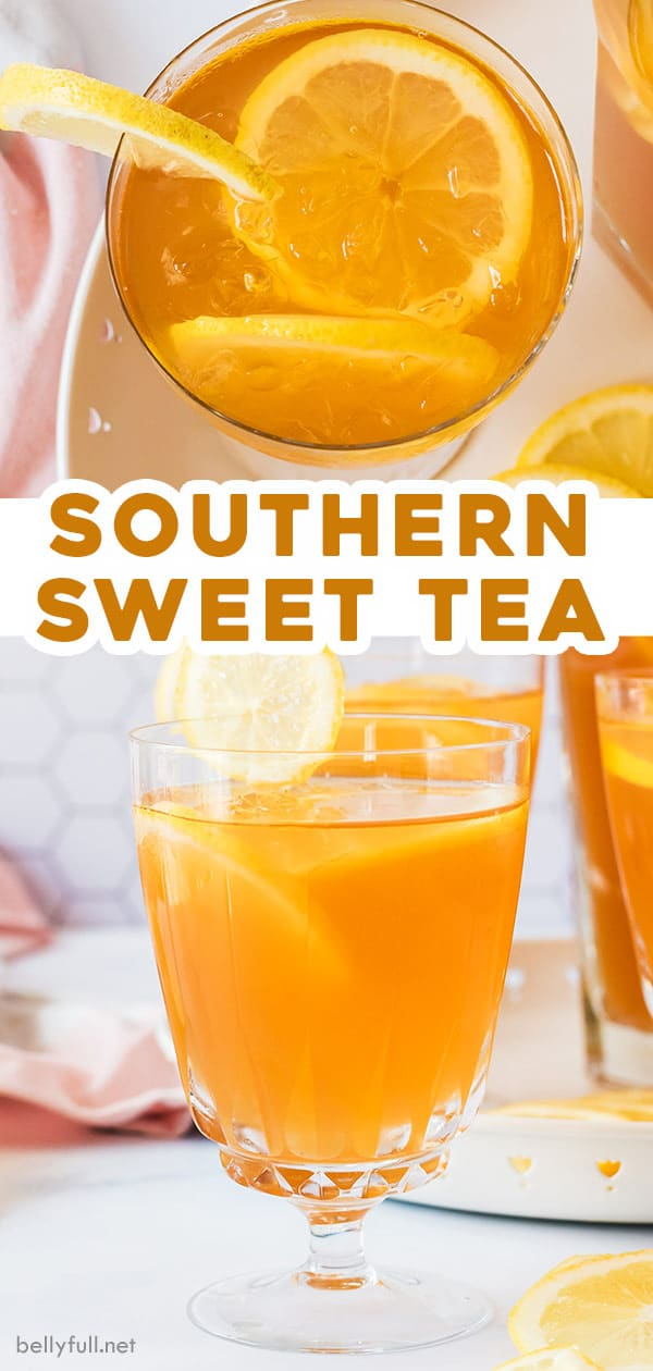 pin for southern sweet tea