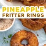 2 picture pin for pineapple fritters recipe