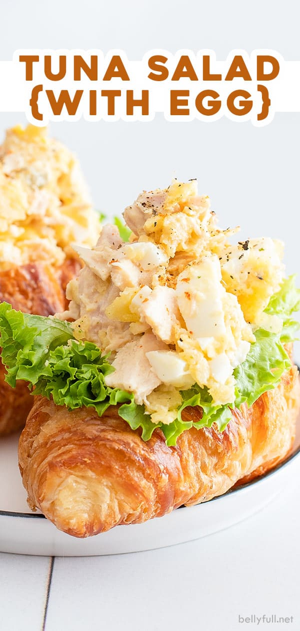 pin for tuna salad recipe