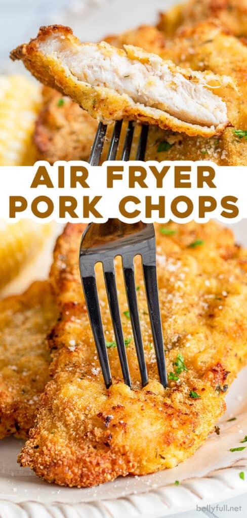 pin for air fry pork chops recipe