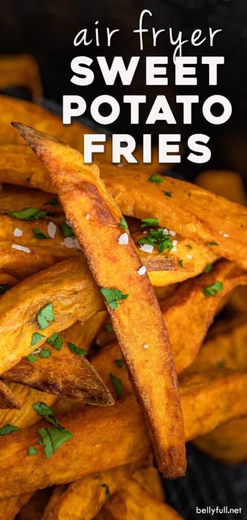 pin for sweet potato fries recipe