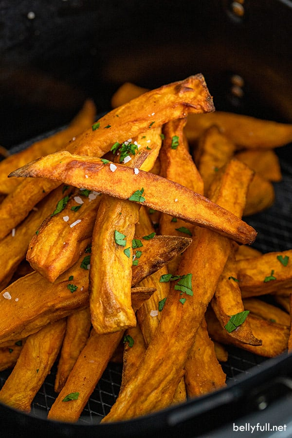 Sweet Potato Fries Air Fryer Or Oven Belly Full