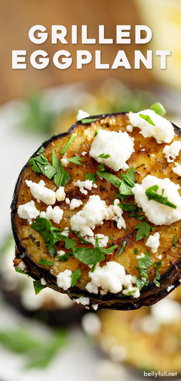 pin for grilled eggplant recipe
