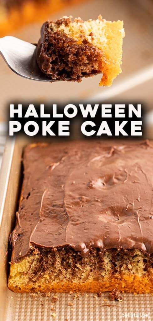 pin for Halloween Poke Cake