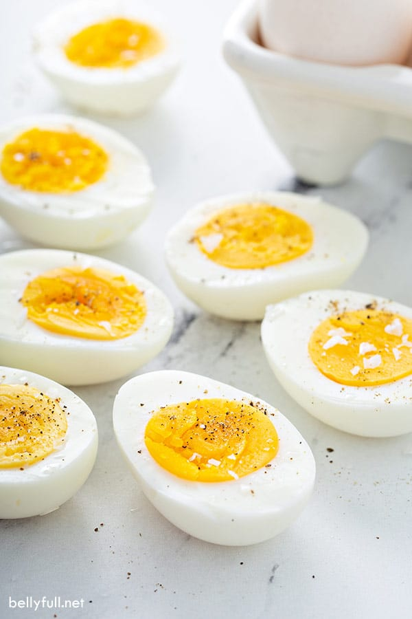 How To Make Perfect Hard Boiled Eggs Belly Full