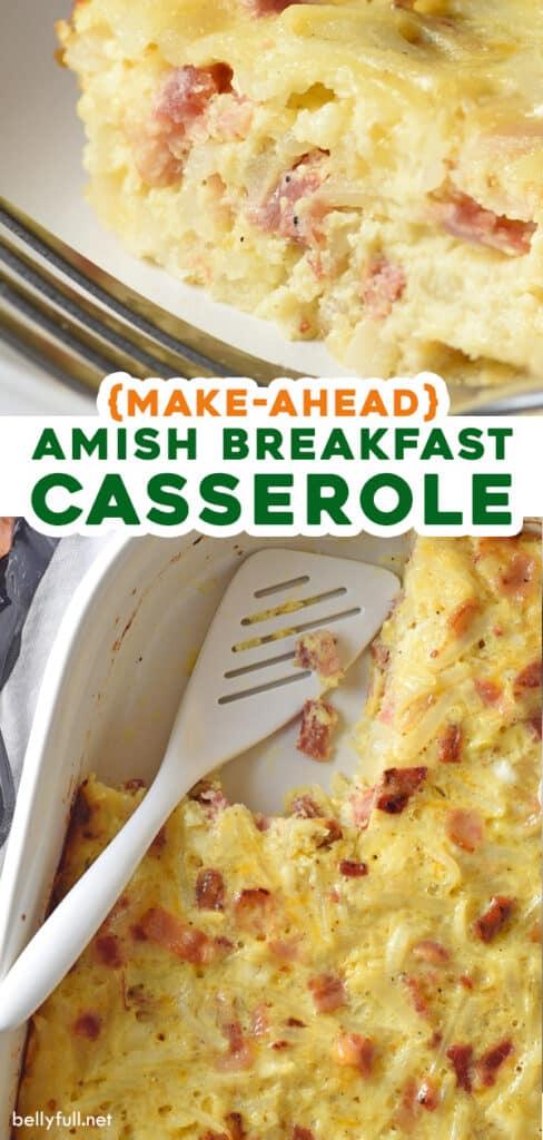 pin for amish breakfast casserole recipe