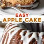 2 picture pin for apple bundt cake