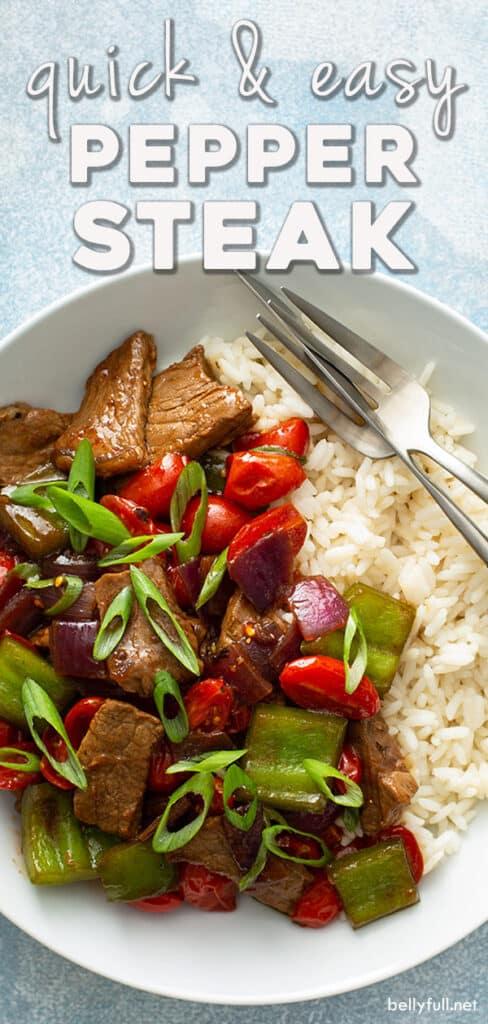 pin for pepper steak recipe