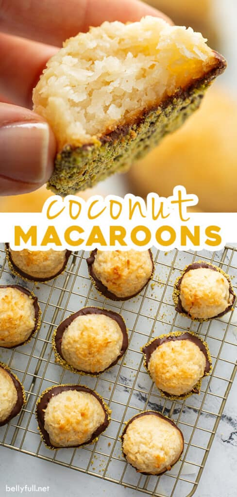 2 picture pin for macaroon cookies