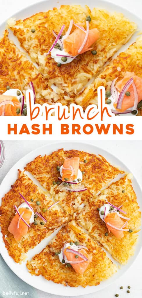 pin for homemade hash brown recipe