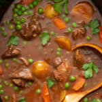 pin for slow cooker beef stew recipe