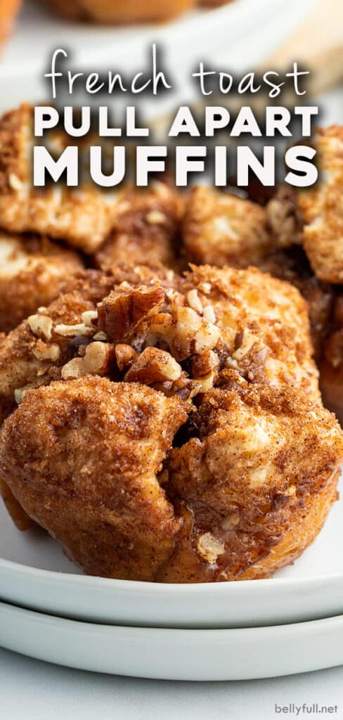 pin for French Toast Muffins recipe