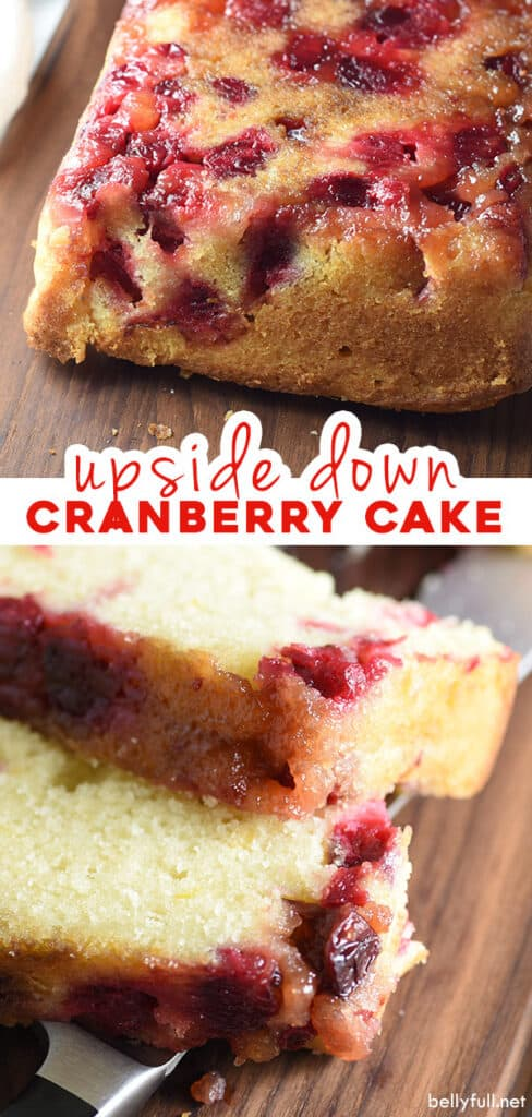 pin for cranberry cake recipe