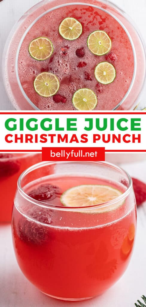 pin for easy Christmas Punch recipe