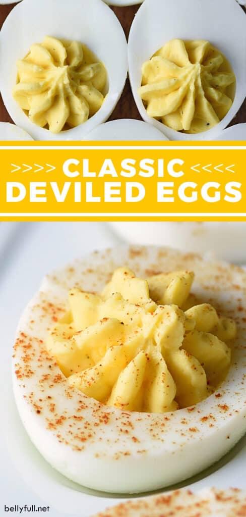 pin for deviled eggs recipe