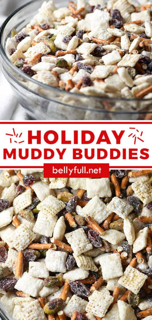 pin for holiday muddy buddies