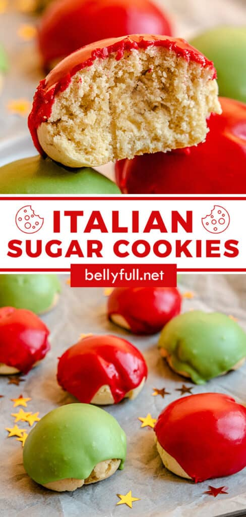 pin for Italian Sugar Cookies
