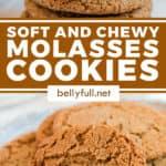 pin for Molasses cookies