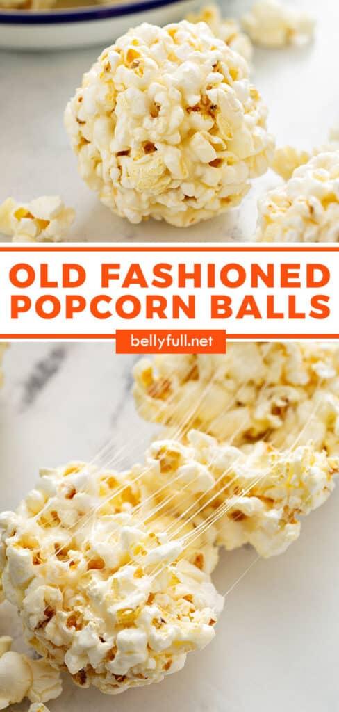 pin for popcorn balls recipe