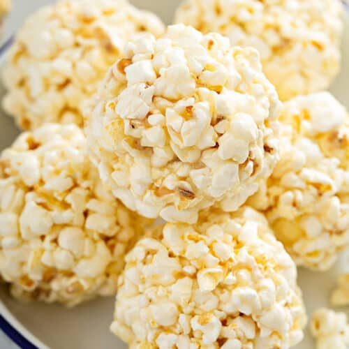 Old Fashioned Popcorn Balls Belly Full