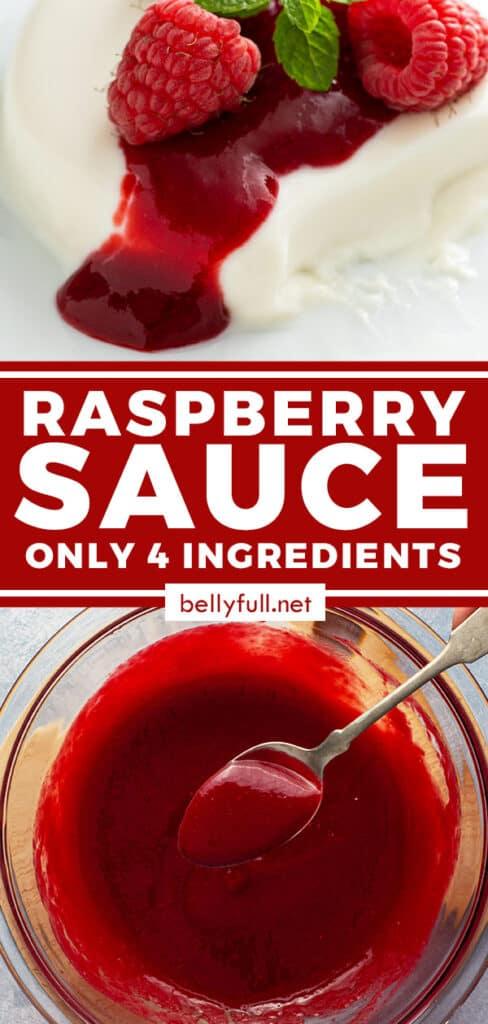 pin for raspberry sauce recipe