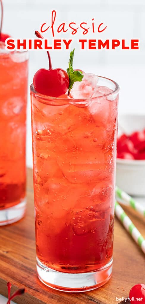 pin for Shirley Temple drink recipe
