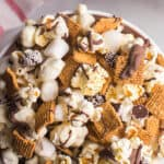 pin for s'mores popcorn