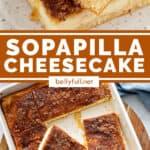 pin for Sopapilla Cheesecake bars