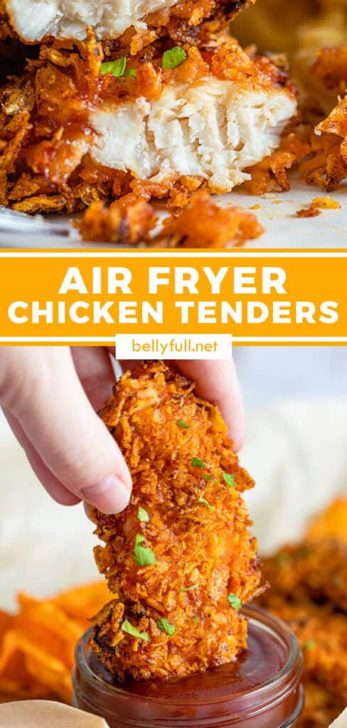 pin for air fryer chicken tenders recipe