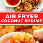 2 picture pin for air fryer coconut shrimp