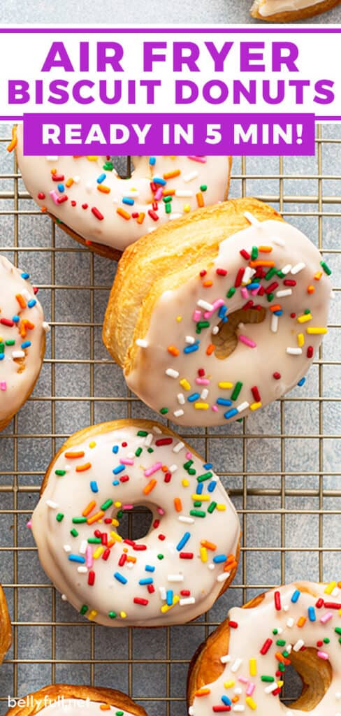 pin for Air Fryer Biscuit Donuts