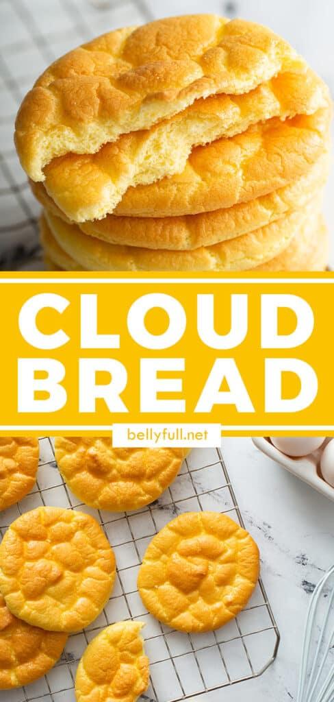 pin for cloud bread recipe