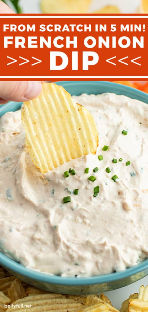 pin for French Onion Dip