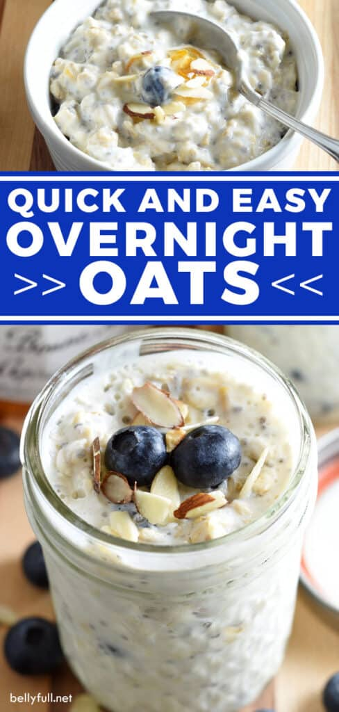 2 picture pin for overnight oats recipe