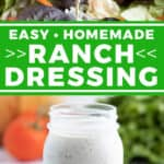 2 picture pin for homemade ranch dressing
