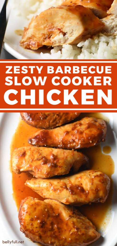 pin for slow cooker barbecue chicken recipe