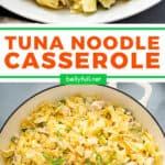 2 picture pin for tuna noodle casserole