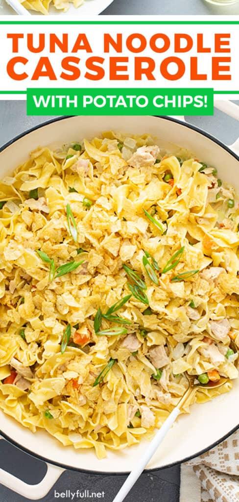 pin for tuna noodle casserole