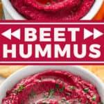 pin for beet hummus