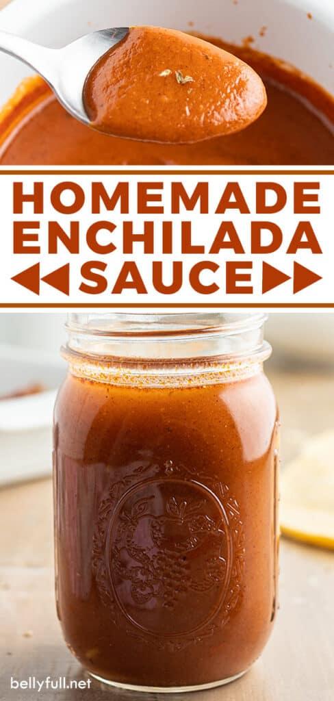 pin for homemade enchilada sauce