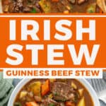 2 picture pin for Guinness Beef Irish stew