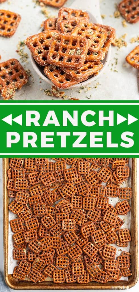 pin for Ranch Pretzels