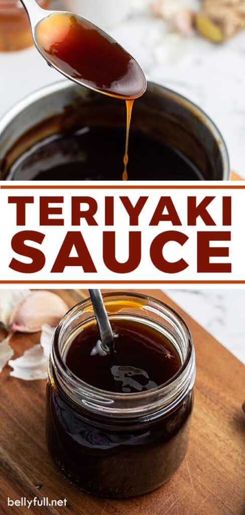 pin for homemade Teriyaki sauce