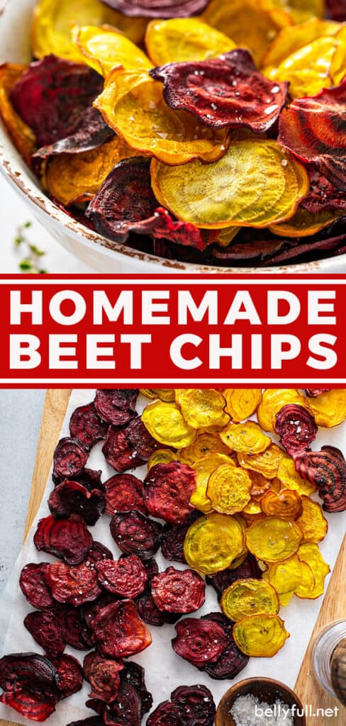 pin for homemade beet chips