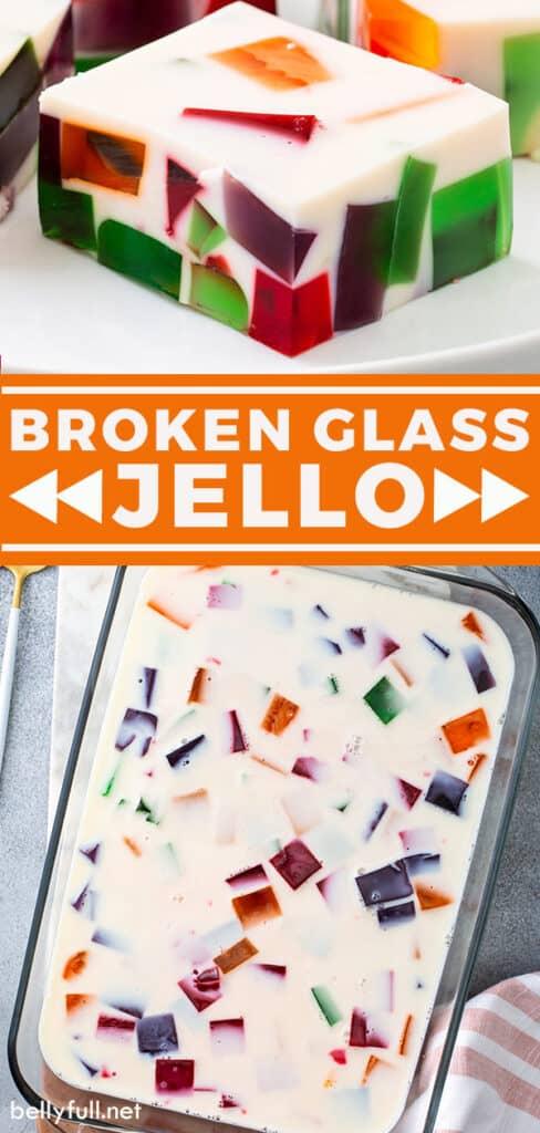 pin for broken glass jello recipe